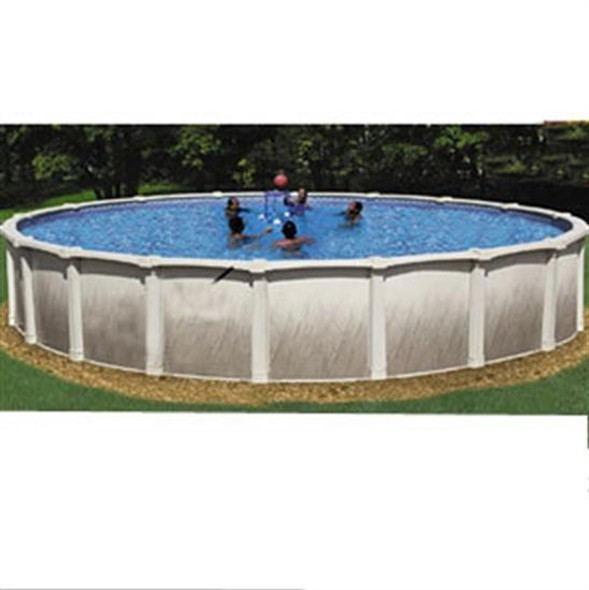 Tahitian 33 Feet Round 54 Inch Hybrid Pool