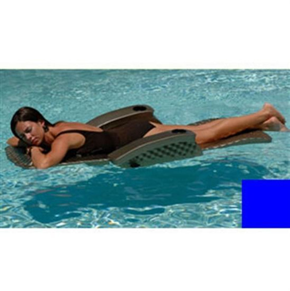 Texas Recreation Super Soft Adjustable Recliner - Blue