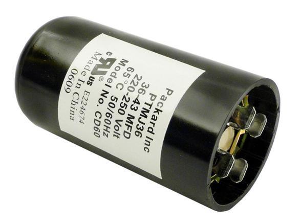 U.S. Seal 36-43 MFD 250v Start Capacitor - USSBC36M250S