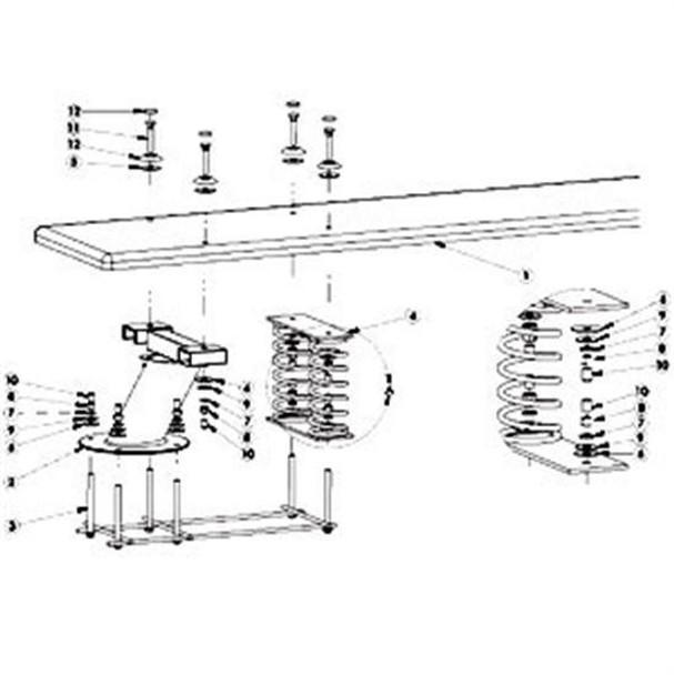 SR Smith Baja Board Bolt Kit - Stainless Steel