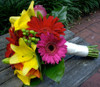 Bright Gerbera & Lilies Bouquet