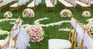 Best Flowers for an All-Day Outdoor Wedding in the City