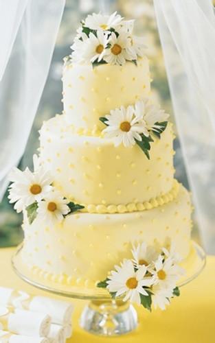 Daisy Cake Decoration