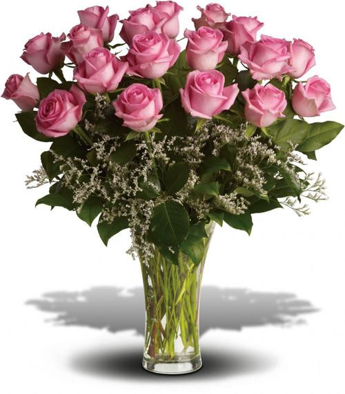 2 Dozen Pink Roses-Gorgeous!