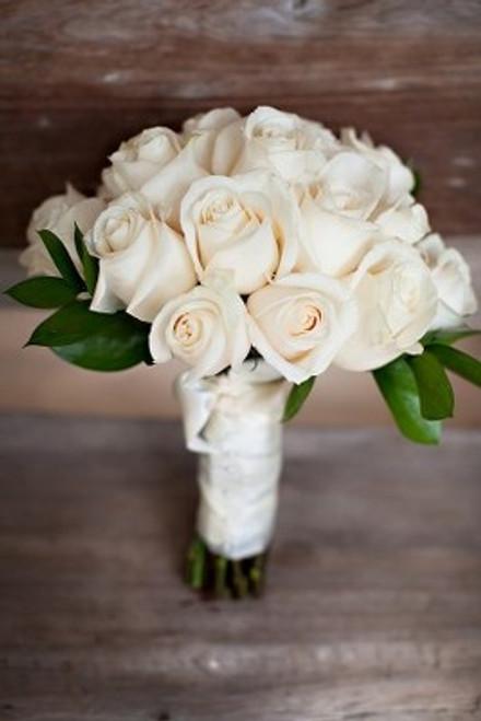 Antique White Rose Bouquet