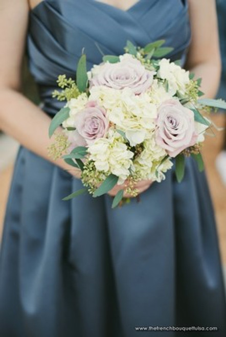 Soft Lilac & White Bouquet