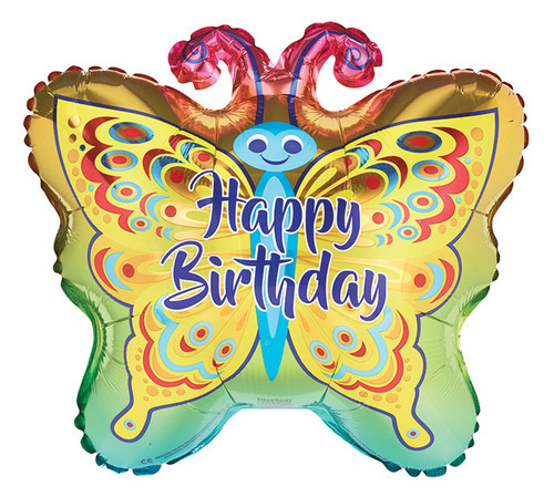 Butterfly Mylar Balloon