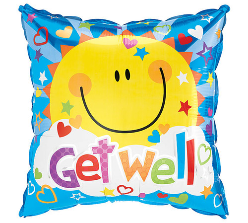 Smiley Face Mylar Balloon Delivery