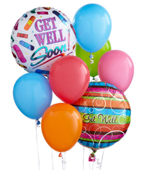 Chappell's Get Well Soon Balloon Bouquet Delivery