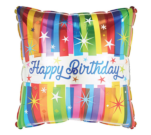 Happy Birthday Special Mylar long lasting balloon