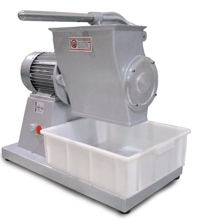 4 HP Commercial Electric Cheese Grater Made in Italy