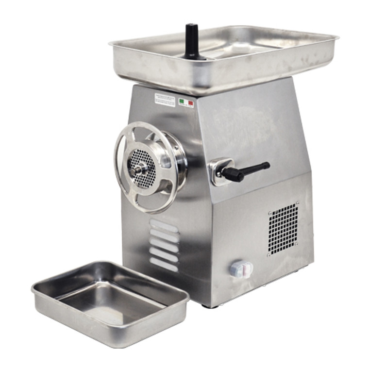 HEAVY DUTY PROFESSIONAL MEAT GRINDER SIZE 32 Made In ITALY