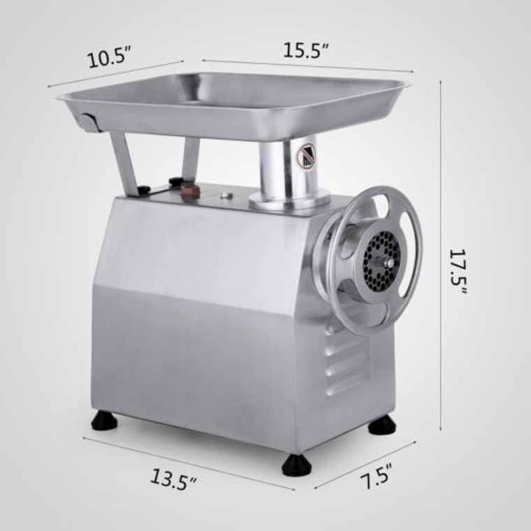 HEAVY DUTY PROFESSIONAL MEAT GRINDER SIZE 22