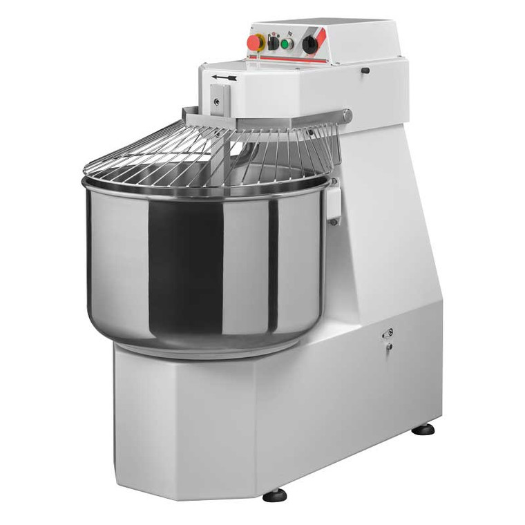 63 Qt HEAVY-DUTY SPIRAL DOUGH MIXER WITH 2 SPEEDS MADE IN ITALY!