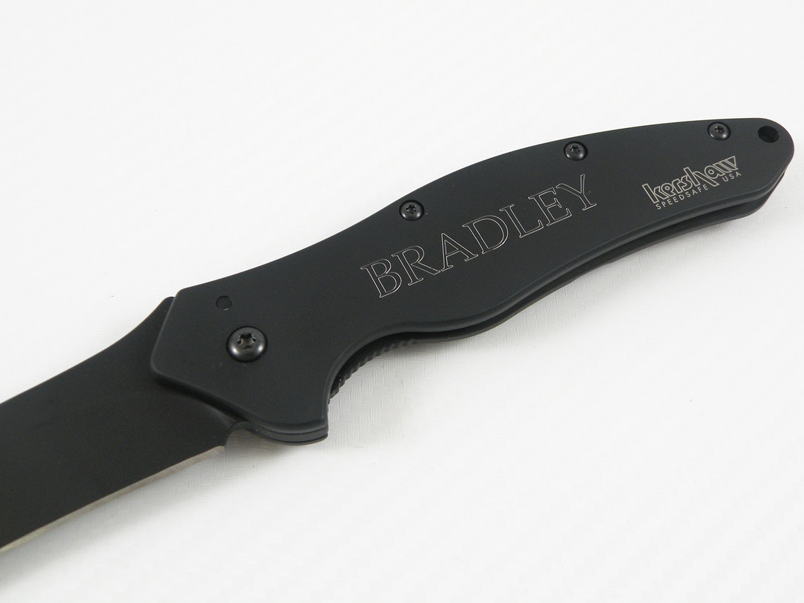 Custom Engraved Kershaw Knives | Personalized Kershaw Knives