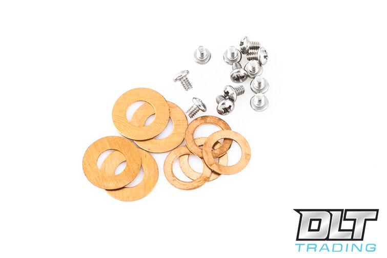 Hinderer Parts Kit - Washer & Clip/Filler Screws - Phosphor Bronze