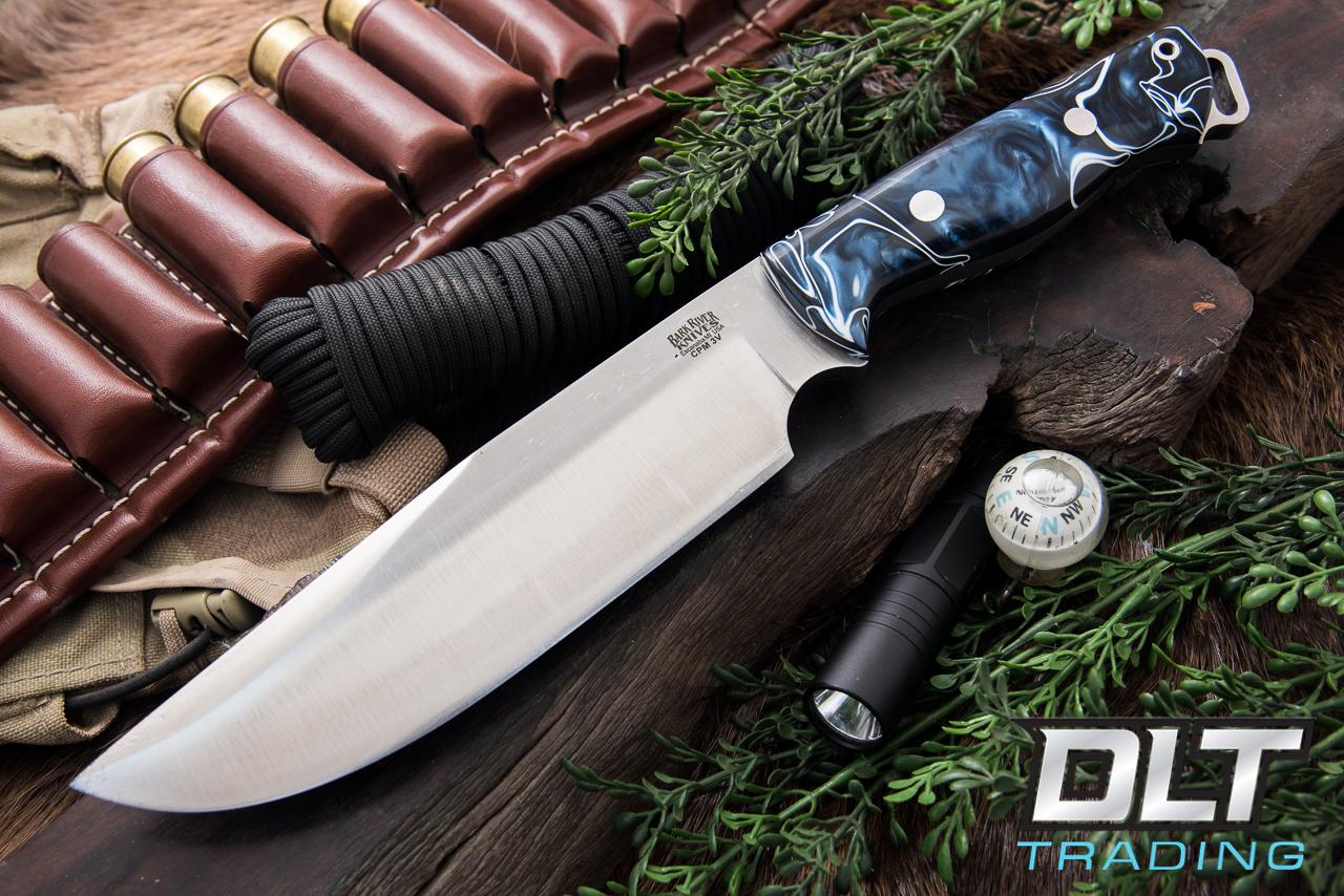 Bark River Knives Bravo Survivor 3v Old Denim Kirinite