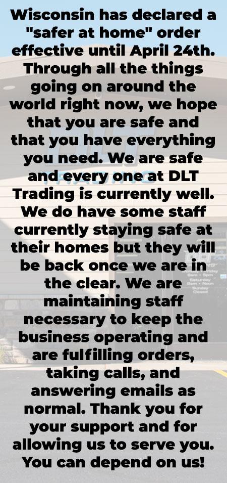 DLT is Open