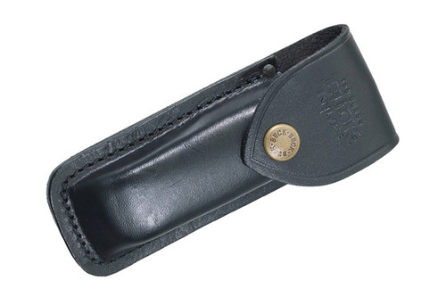 Buck 110 Folding Hunter Leather Sheath Dlt Trading