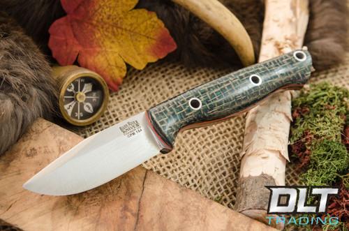 Bark River Knives Bravo Sentry Cpm 154 Forest Burlap