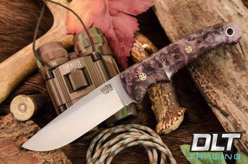 Bark River Knives Guardless Classic Drop Point Hunter