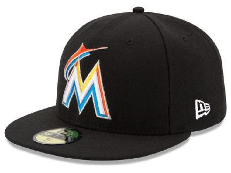 Miami Marlins Authentic 59Fifty Road Game Cap