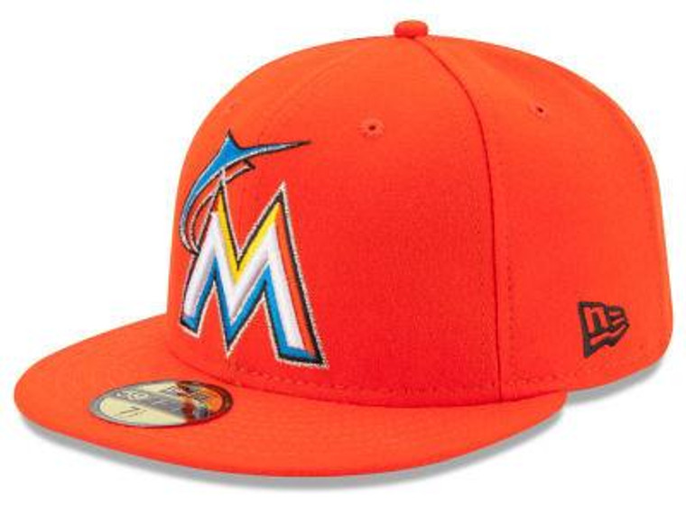 Miami Marlins Authentic 59Fifty Home Game Cap