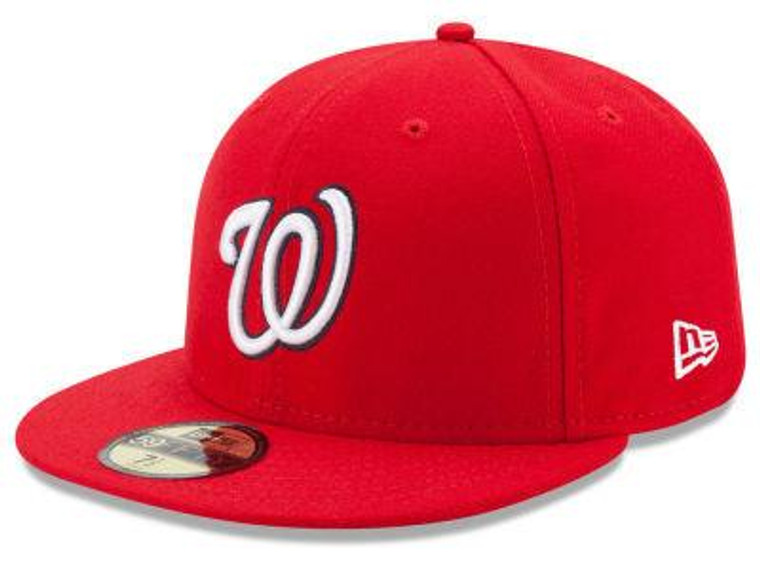 Washington Nationals Authentic 59Fifty Red Game Cap