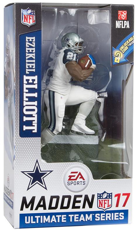 Dallas Cowboys Ezekiel Elliott Chase Madden 17 Figurine s2