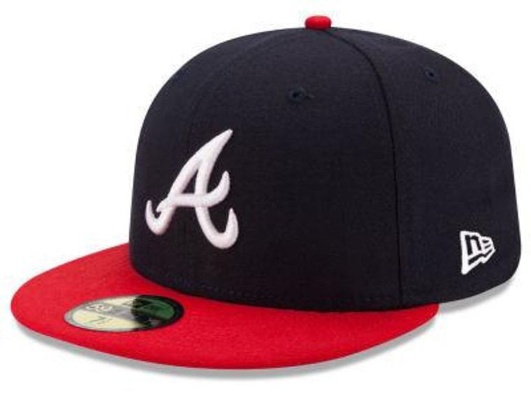 Atlanta Braves Authentic 59Fifty Home Game Cap