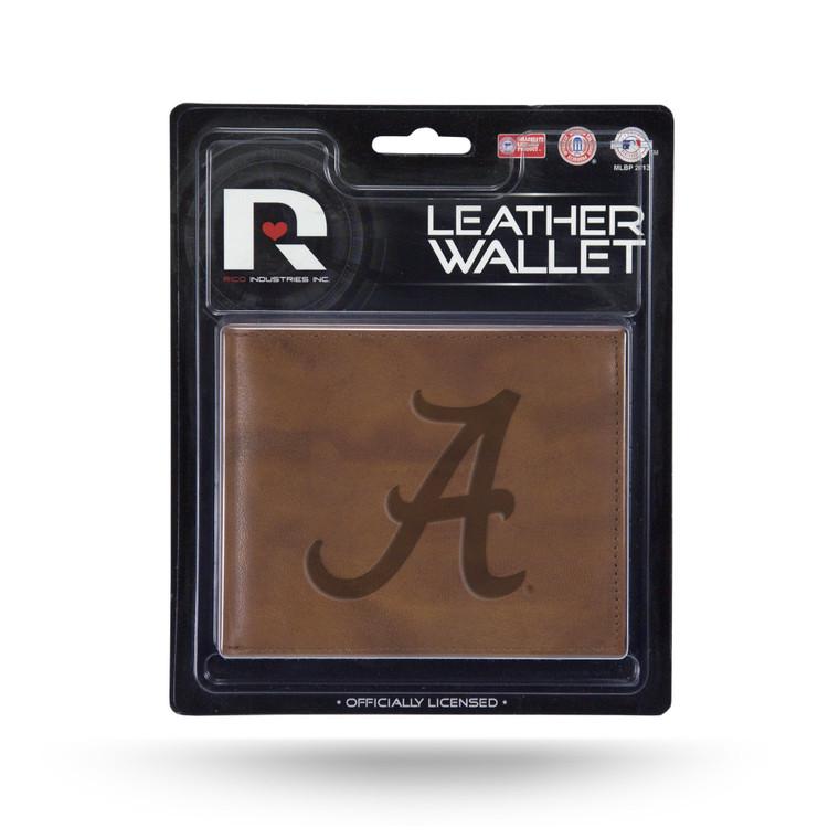 Alabama Crimson Tide Leather Embossed Billfold