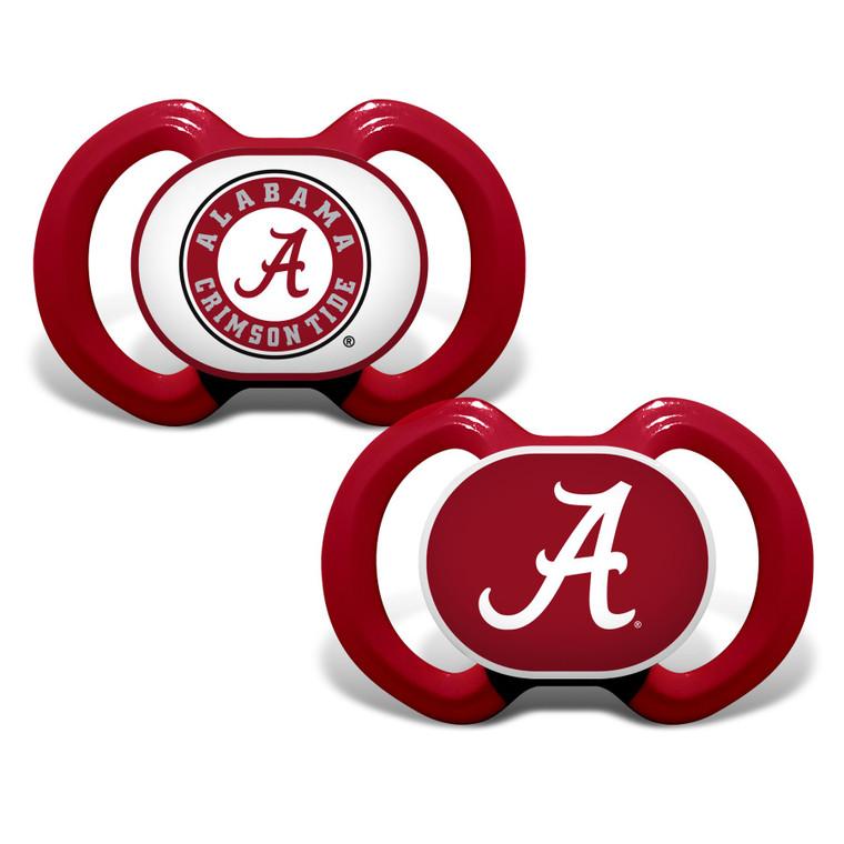 Alabama Crimson Tide Pacifier 2 Pack