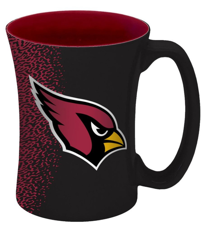 Arizona Cardinals Mocha Coffee Mug 14oz