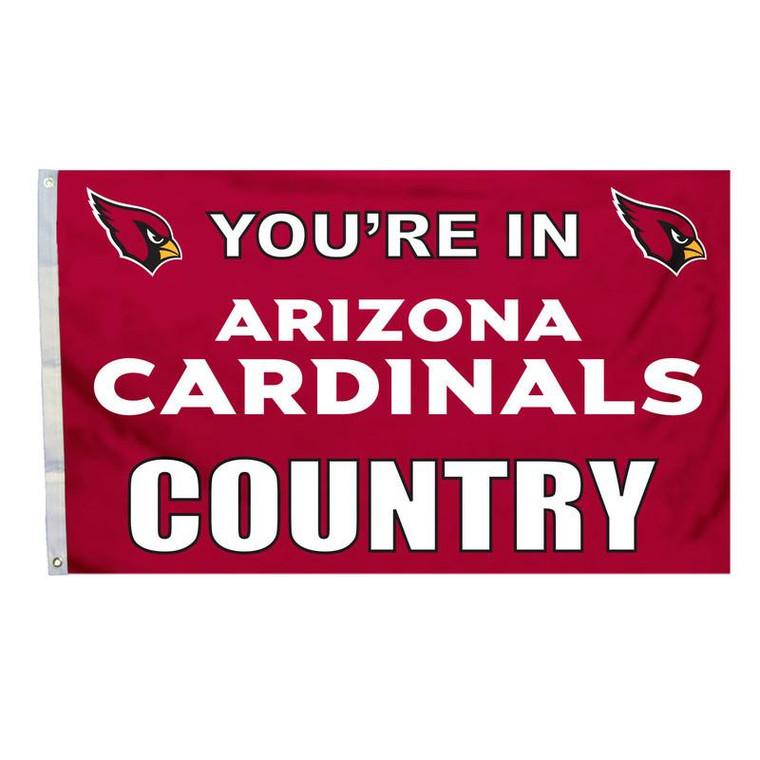 Arizona Cardinals Country 3x5' Flag
