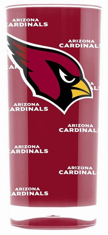 Arizona Cardinals Tumbler - Square Insulated (16oz)
