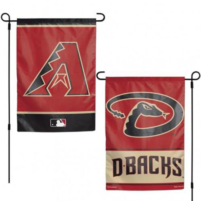 Arizona Diamondbacks Flag 12x18 Garden Style 2 Sided