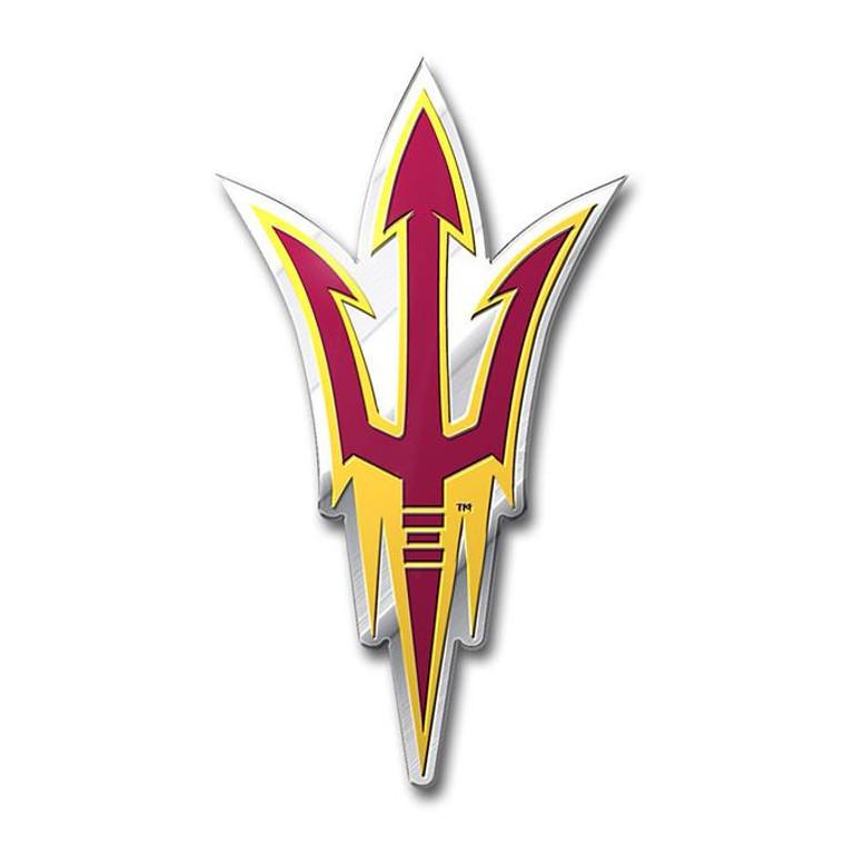 Arizona State Sun Devils Color Auto Emblem