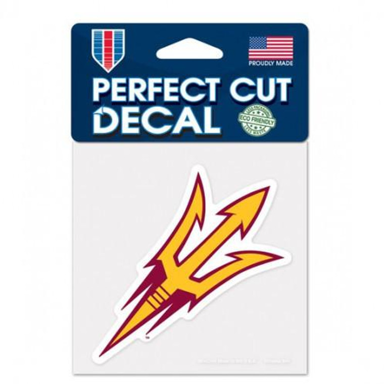 """Arizona State Wildcats Perfect Cut Color Decal 4x4"""""""