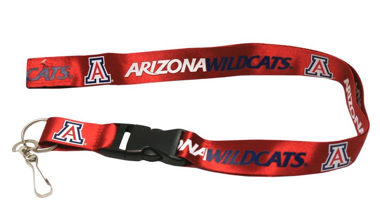 Arizona Wildcats Lanyard - Breakaway with Key Ring
