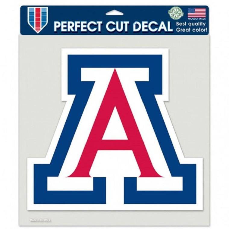 "Arizona Wildcats Tide Die Cut Color Decal 8x8"""
