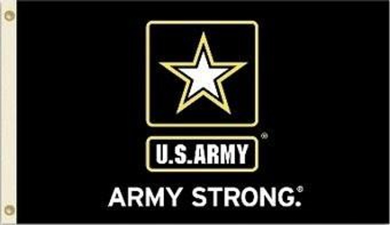Army Black Knights Flag 3x5 Army Strong