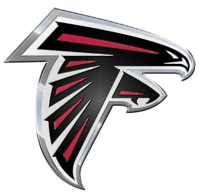 Atlanta Falcons Color Auto Emblem