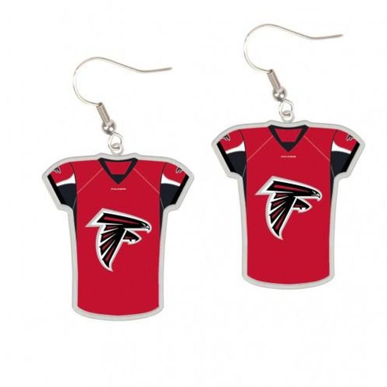 Atlanta Falcons Earrings Jersey Style