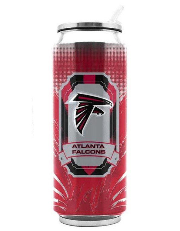 Atlanta Falcons Stainless Steel Thermo Can - 16.9 ounces