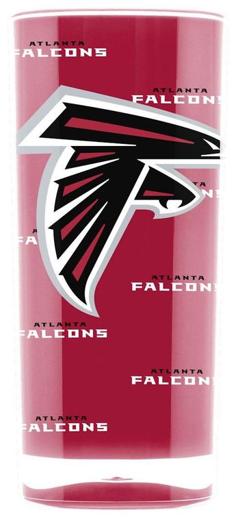 Atlanta Falcons Tumbler - Square Insulated (16oz)