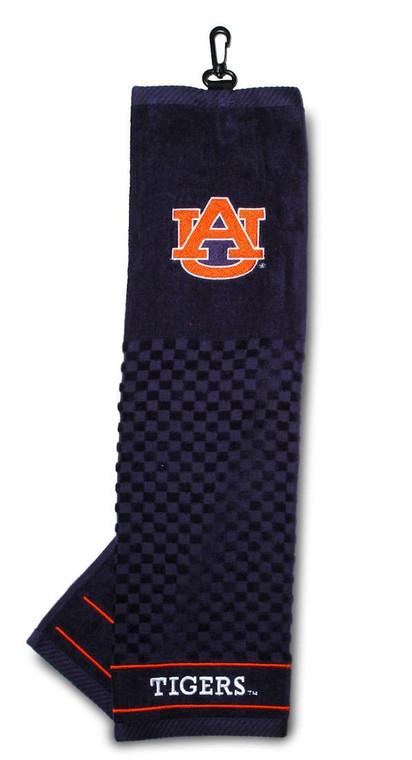 """Auburn Tigers Embroidered Golf Towel 16x22"""""""