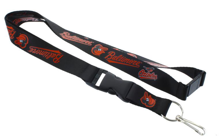 Baltimore Orioles Lanyard - Black
