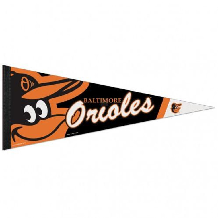 """Baltimore Orioles Pennant Premium Pennant 12x30"""""""