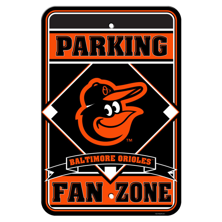 """Baltimore Orioles Sign Parking Sign 12x18"""""""