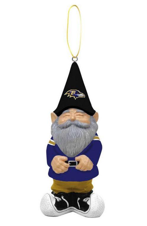 Baltimore Ravens Ornament - Gnome